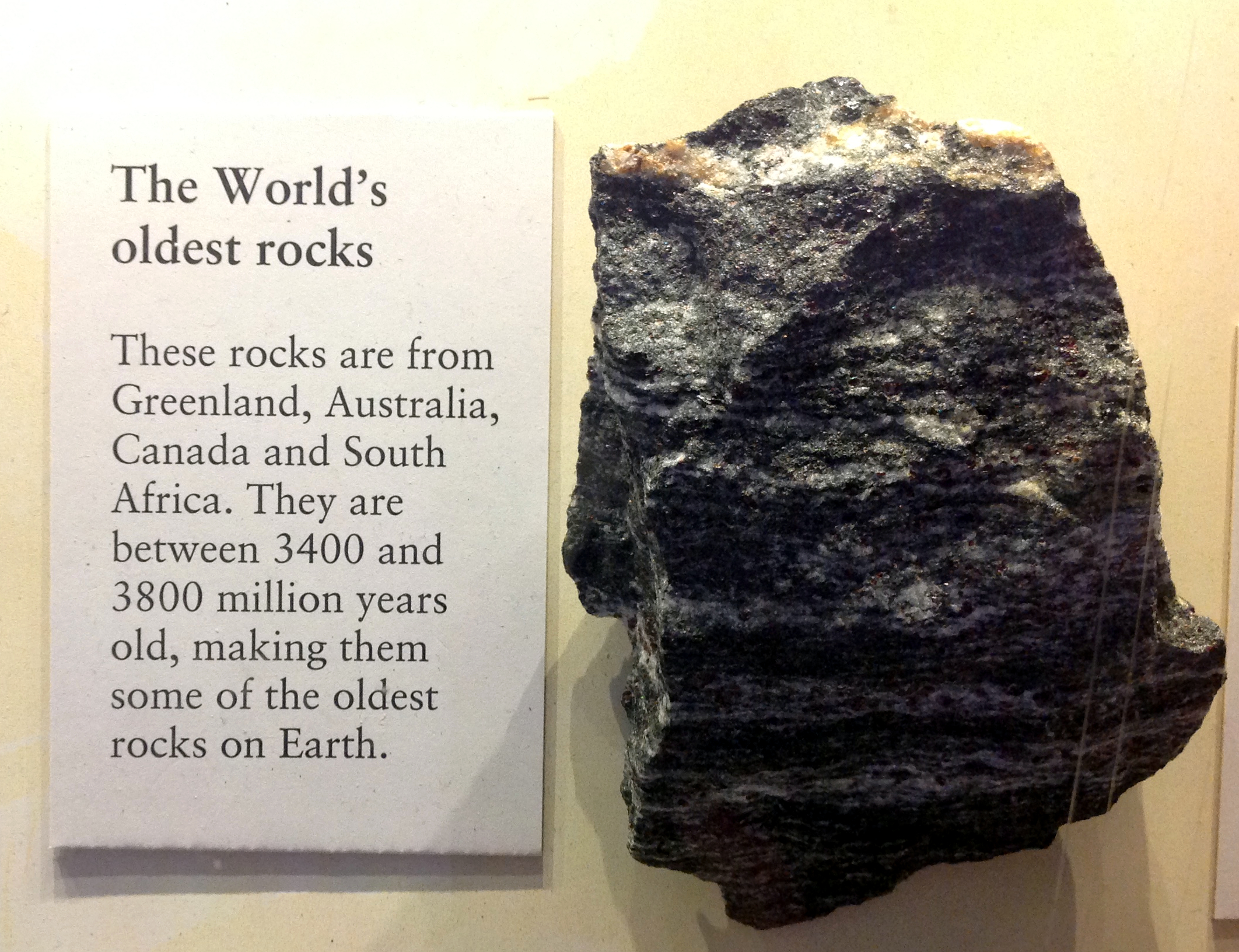 oldest rock