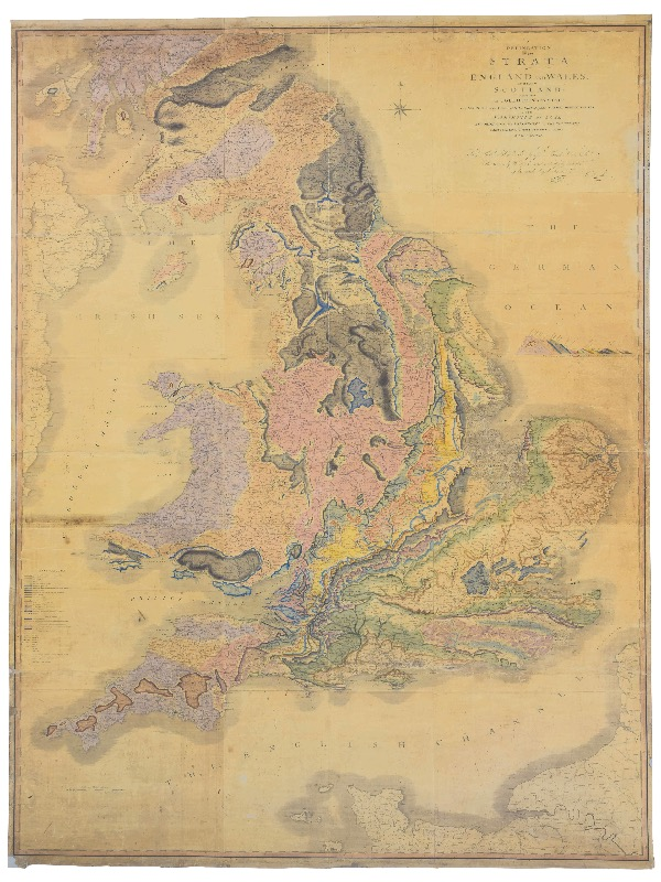 Sedgwick Museum of Earth Sciences - William Smith Map on blank map of britain, political map of britain, physical map of britain,